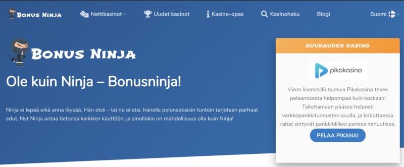 Bonusninja.com